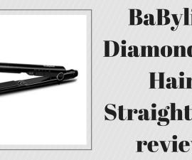 BaByliss Diamond 235 Hair Straightener review TheFuss.co.uk