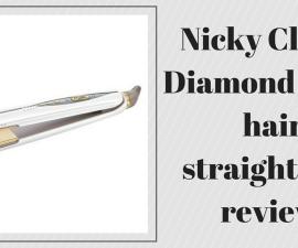 Nicky Clarke Diamond Shine hair straightener review TheFuss.co.uk