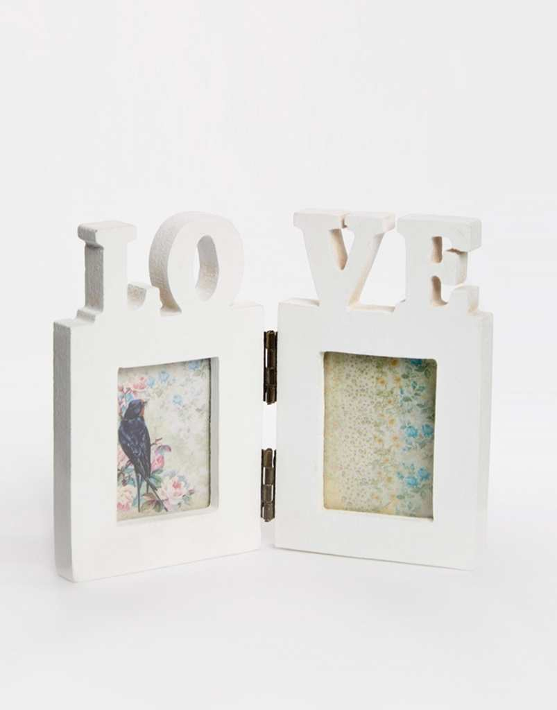Double Love Photo Frame