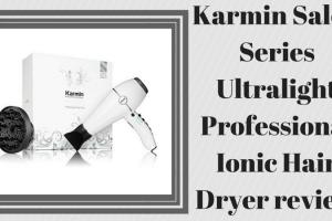 Karmin Salon Series Ultralight Professional Ionic Hair Dryer review TheFuss.co.uk