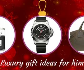Luxury gift ideas for him TheFuss.co.uk