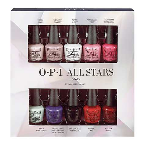 OPI All Stars Starlight Holiday Collection Pack, 10 x 3.75ml