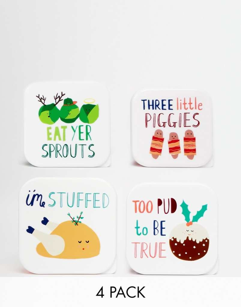 Paperchase Christmas Lunch Boxes