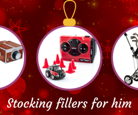Stocking fillers for him TheFuss.co.uk
