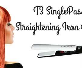 T3 SinglePass Straightening Iron Review TheFuss.co.uk