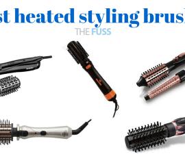 Best heated styling brushes TheFuss.co.uk