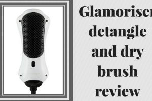 Glamoriser detangle and dry brush review TheFuss.co.uk