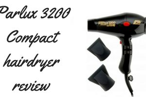 Parlux 3200 Compact Hairdryer Review TheFuss.co.uk