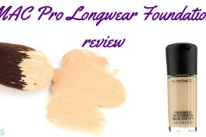 MAC Pro Longwear Foundation review TheFuss.co.uk