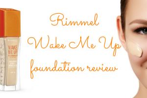 Rimmel Wake Me Up foundation review TheFuss.co.uk