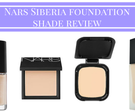 Nars Siberia foundation shade review TheFuss.co.uk
