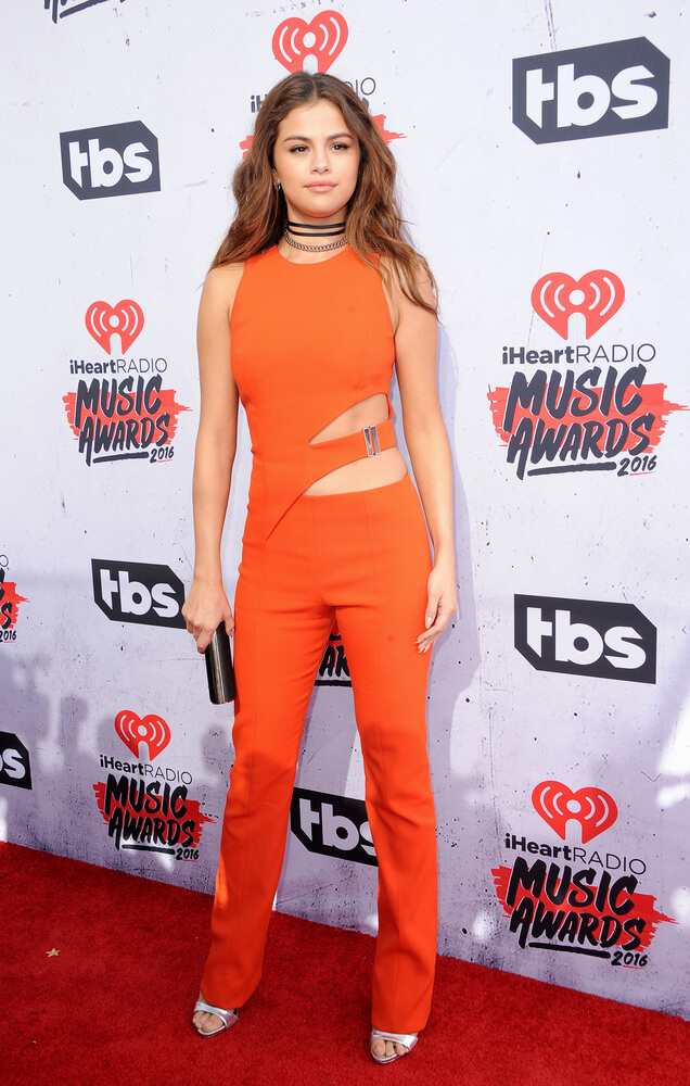 Selena Gomez killed it in her Mugler jumpsuit TheFuss.co.uk