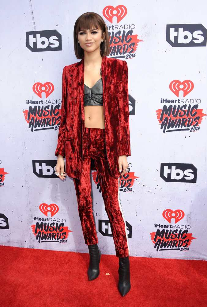 Zendaya Coleman switches up her red carpet style once again TheFuss.co.uk