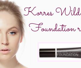 Korres Wild Rose Foundation review TheFuss.co.uk