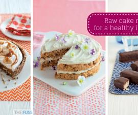 Raw cake recipes for a healthy indulgence TheFuss.co.uk