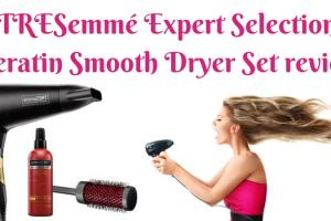 TRESemmé Expert Selection Keratin Smooth Dryer Set review TheFuss.co.uk