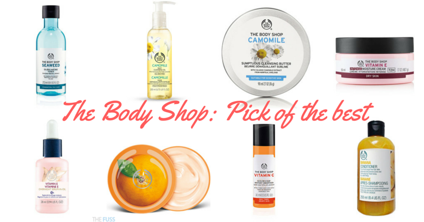 The Body Shop Pick of the best beauty buys TheFuss.co.uk