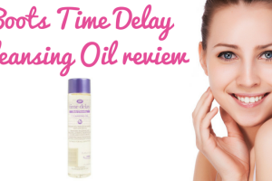 Boots Time Delay Cleansing Oil review TheFuss.co.uk