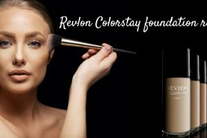 Revlon Colorstay foundation review TheFuss.co.uk