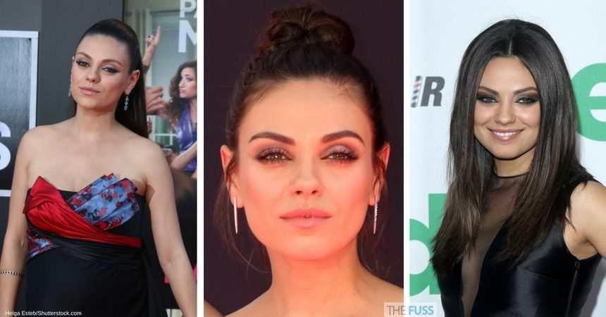 How to get Mila Kunis' eye makeup look TheFuss.co.uk