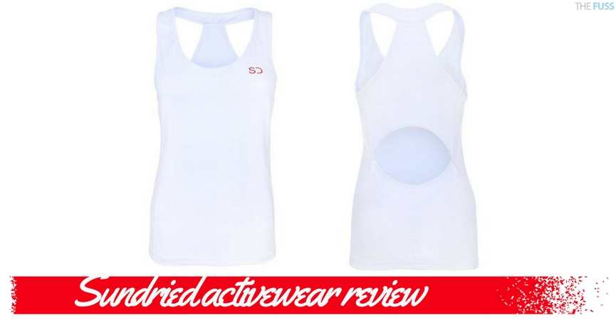 Sundried activewear review TheFuss.co.uk