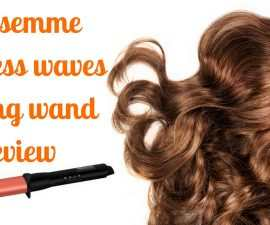 Tresemme flawless waves styling wand review TheFuss.co.uk