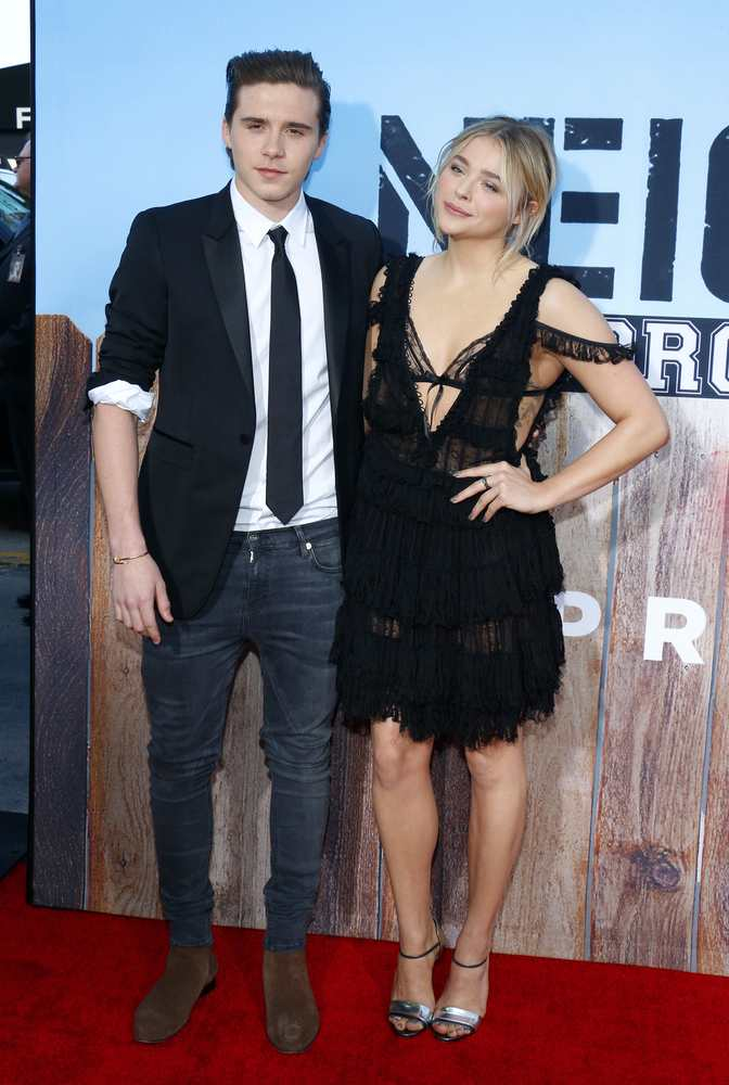 Chloe Grace Moretz and Brooklyn Beckham called it a day in September TheFuss.co.uk