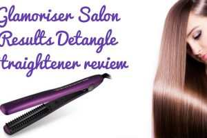 Glamoriser Salon Results Detangle Straightener Review TheFuss.co.uk