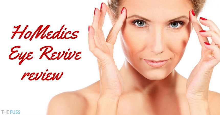 HoMedics Eye Revive review TheFuss.co.uk