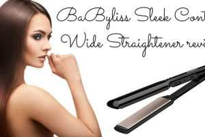 BaByliss Sleek Control Wide Straightener Review TheFuss.co.uk