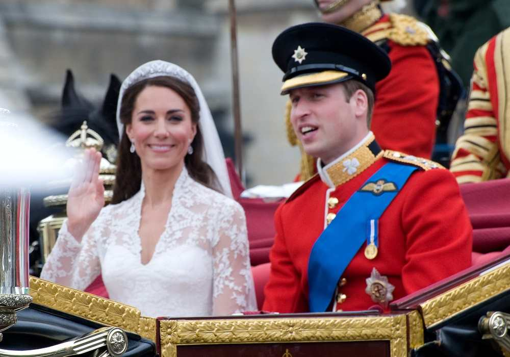 Duchess And Duke Of Cambridge At Their Royal Wedding Featureflash Photo Agency Shutterstock Com