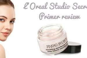L'Oreal Studio Secrets Primer Review TheFuss.co.uk
