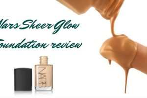 Nars Sheer Glow Foundation Review TheFuss.co.uk