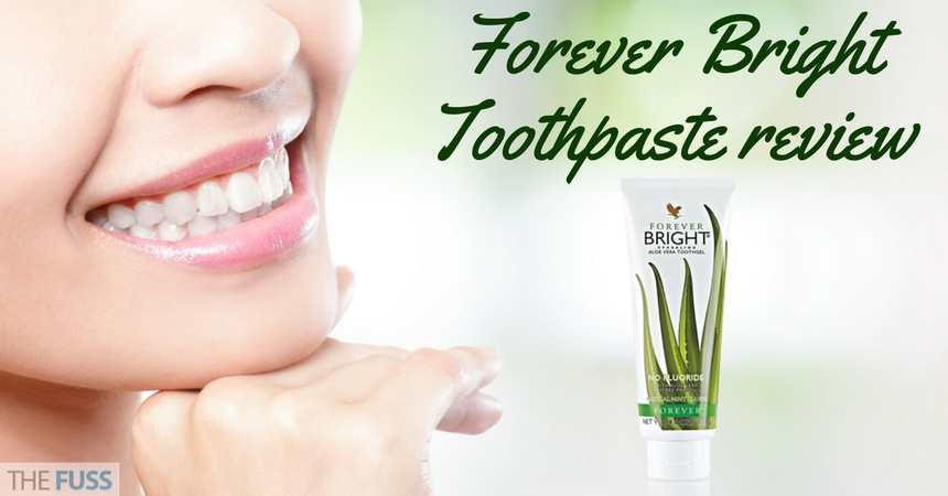 Forever Bright Toothpaste Review TheFuss.co.uk