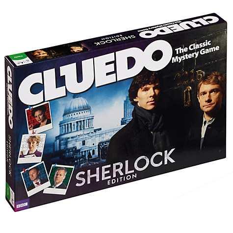 Sherlock Cluedo Board Game