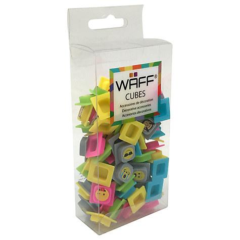 WAFF Emoji Cubes
