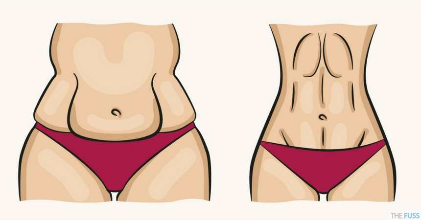 How To Banish Belly Fat TheFuss.co.uk
