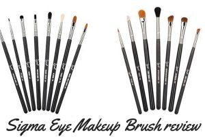 Sigma Eye Makeup Brush Review TheFuss.co.uk