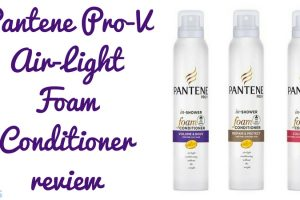 Pantene Pro V Air Light Foam Conditioner Review TheFuss.co.uk