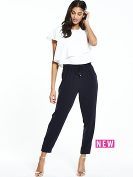 Ted Baker Two Layer Jogger Jumpsuit
