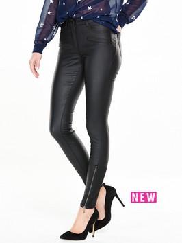 V By Very Biker Zip Skinny Jean