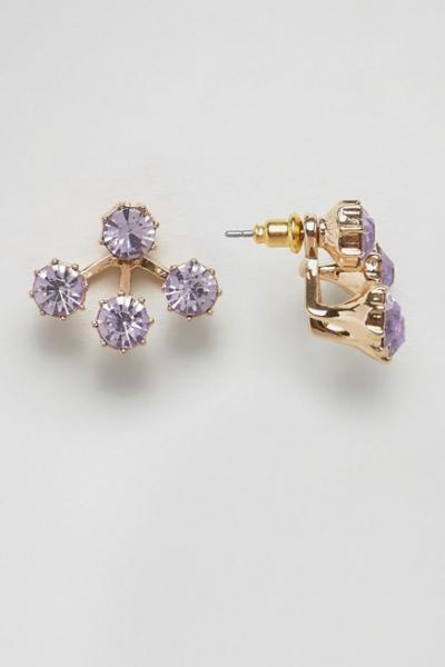 ASOS Chunky Jewel Swing Earrings