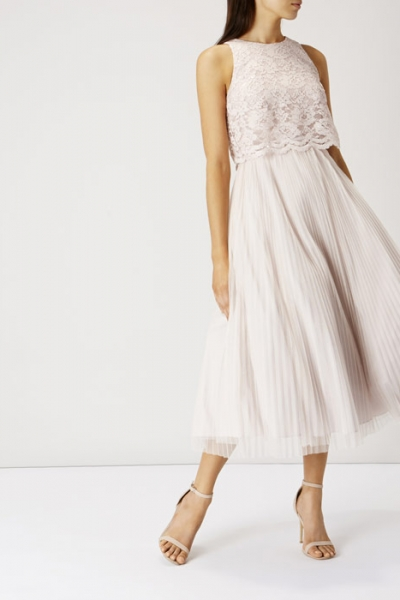 Coast Astoria Lace Midi Dress