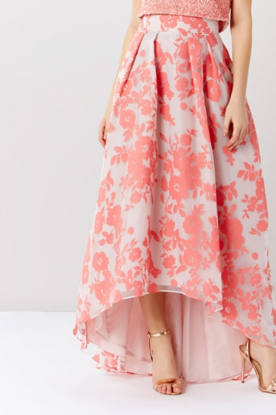 Coast Bliss Burnout Skirt