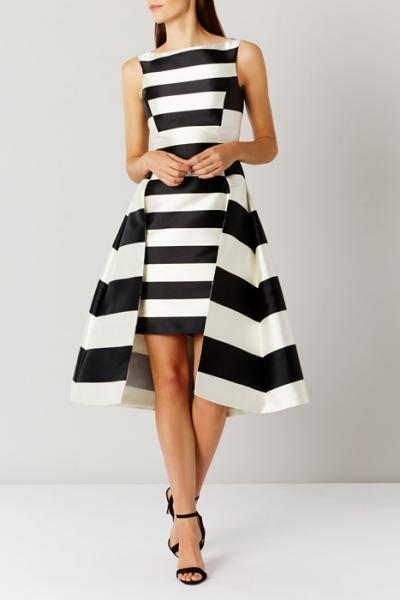 Coast Kady Stripe Full Midi Dress