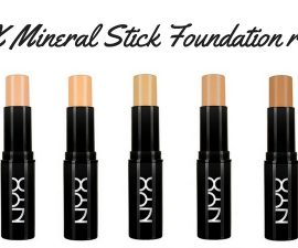 NYX Mineral Stick Foundation Review TheFuss.co.uk