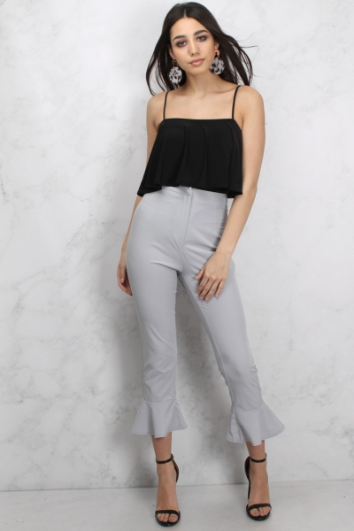 Rare Grey Flared Trousers