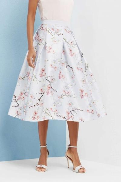 Ted Baker Pallye Oriental Blossom Full Skirt