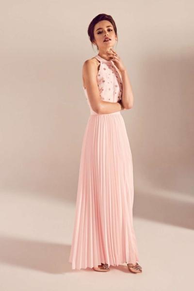 Ted Baker Sofeen Floral Jacquard Maxi Dress
