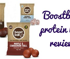 Boostball Protein Ball Review TheFuss.co.uk